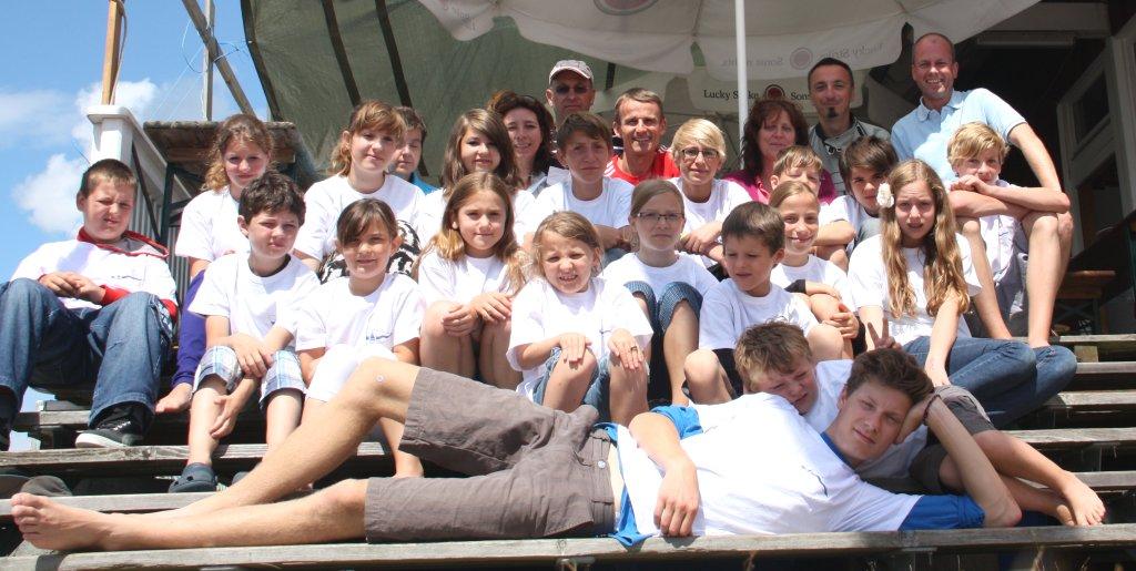 Teilnehmer der RSB-Jugendsegelwoche 2012